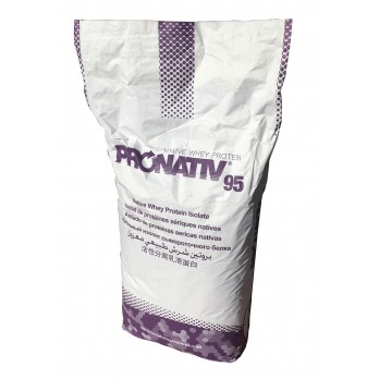 Whey Protein Isolate 95% Low Lactose (edible) - 25kg